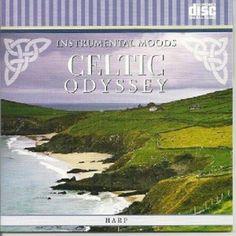 IRISH CELTIC HARP INSTRUMENTAL RELAXATION MUSIC CD #Celtic