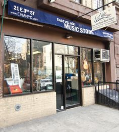 East Village Music Store, New York City | Store Pictures