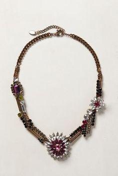 Sea Holly Bib Necklace
