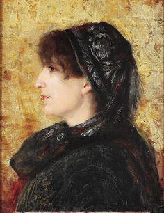 File:Osman Hamdi Bey - Naile Hanım Portresi , Portrait of Naile Hanım - Google…
