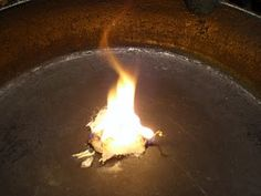Vaseline/cotton ball fire starters