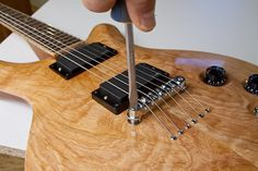 You spent weeks and months building your guitar, now it's time to put the hardware on and begin the setup process.  Don't expect your guitar to sound good as
