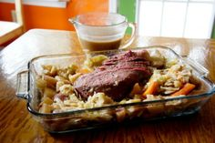 Corned Beef with Guinness Gravy by OmNomalicious