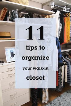 How to maximize your storage space and decorate your closet