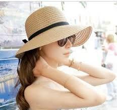 mujer sombrero playa - Buscar con Google