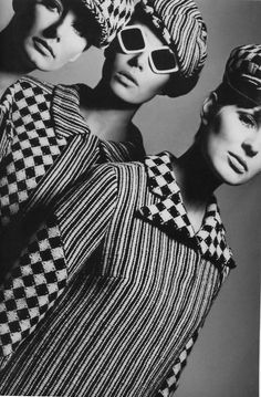 Mod Fashion - both men and women adopted this Mod or Modern style. It was more of an adventurous approach to fashion which get it's inspirations from the many of the 1960s trends in society.