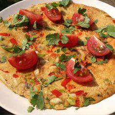Maak snel en eenvoudig een glutenvrije groente pannenkoek. Ideaal om mee te nemen naar je werk of studie. Glutenvrij, lactosevrij, clean eten.