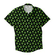 """f1bdf23b0 """"Take us to your leader! The Alienz Short-Sleeve Button Down is a. Shelfies"""