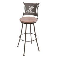"Thyme Barstool 25"" by Stone County Ironworks"