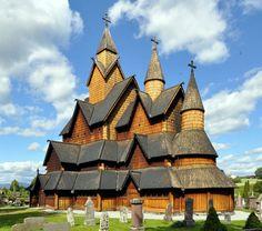 Igreja de Heddal em Notodden