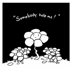 Somebody help me! � Have some Flowey because I love them :) Undertale Flowey, Frisk, Flowey The Flower, Wall Collage, Fnaf, Kawaii Stuff, Chara, Determination, Timeline