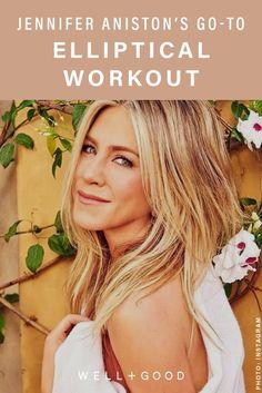 Elliptical workout - Jennifer Aniston's elliptical workout – Elliptical workout Fitness Memes, Health And Fitness Tips, Fitness Diet, Fitness Goals, Fitness Motivation, Fitness App, Yoga Fitness, Muscle Fitness, Gain Muscle