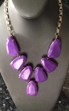SOLD  My Kendrs Scott Harlow In Neon Purple & Gift Box  by Kendra Scott! Size  for $$295.00. Check it out: http://www.vinted.com/accessories/necklaces/22012041-kendrs-scott-harlow-in-neon-purple-gift-box.