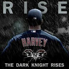 Rise the Darknight Matt Harvey Mets LGM