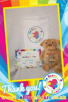 Be Brave Bear No 607 for Anton