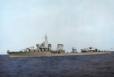ORP Burza was a Wicher-class destroyer of the Polish Navy which saw action in World War II.