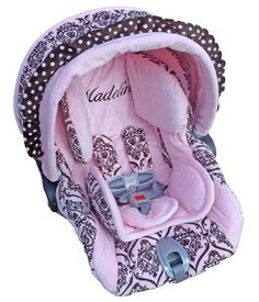 Baby Royal Princess Infant Car Seat Replacement Cover Girl Carseat Covers Carrier