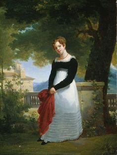 Portrait of Adélaïde-Sophie Cléret, Madame Tiolier, wife of the French sculptor Nicolas-Pierre Toilier | François-Édouard Picot (c.1817)