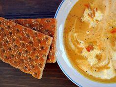 Gyömbéres sárgarépa-krémleves / Carrot cream soup with ginger