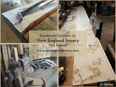 New England Joinery builds handmade, reclaimed wood farm tables,rustic dining tables, & trestle tables.
