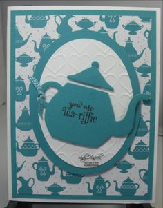 A Nice Cuppa-Bermuda Bay theme with the Have a Cuppa Designer Paper