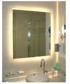 Canadian Approved Led Backlit Bathroom Mirror For Your Modern Bathroom Design The Mirror Is Heated
