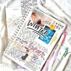 Bullet Journal Notes, Bullet Journal Ideas Pages, My Journal, Bullet Journal Inspiration, Journal Pages, Bts, Journal Aesthetic, Scrapbook Journal, Smash Book