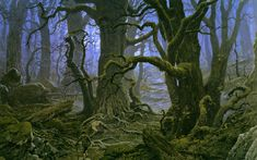 ted nasmith_the complete guide to middle-earth_fangorn forest.jpg (1600×1002)