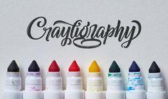 Crazy Crayola Calligraphy!