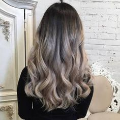 Image result for ash blonde to platinum ombre