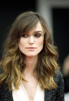 Keira Knightley Hairstyle Short Medium Long Wavy Curly Straight