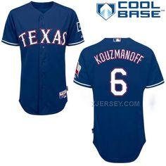 http://www.xjersey.com/rangers-6-kouzmanoff-blue-cool-base-jerseys.html RANGERS 6 KOUZMANOFF BLUE COOL BASE JERSEYS Only 40.68€ , Free Shipping!