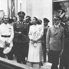 Hitler attending the opening, 1937 in Munich.