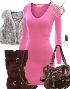 i love this sweater dress! cute with leggings | Clothes ...