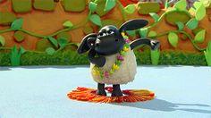 funny dance cute dancing lol cartoon sweet timmy hula aardman shaun the sheep timmy time #gif from #giphy