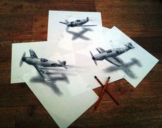 ht planes jef 130620 vblog 3 D Pencil Sketches Leap Off the Page