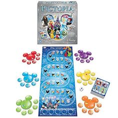 Walt Disney Pictopia Game  Ultimate Picture Trivia Questions Family Game