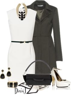 """""""Black and White"""" by dimij on Polyvore"""