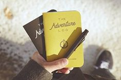 Adventure log by Word. notebooks