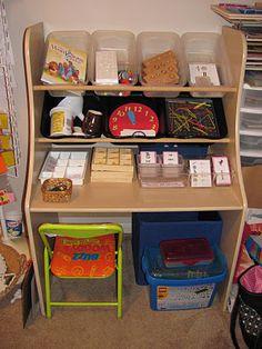 Montessori workboxes