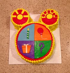 Micky mouse playhouse cake