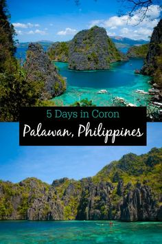 5 Days in Coron, Palawan, Philippines // Beautiful beaches, snorkeling, and partying in paradise on Busuanga Island, a great beach travel destination and cheap flight from Manila.