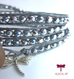 "GLAM-factor! How do you like our new wrap bracelet ""Stella""? #AJOLA®"
