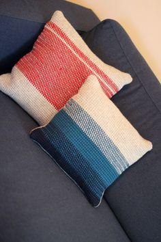 Tunisian stitch Pillow pattern