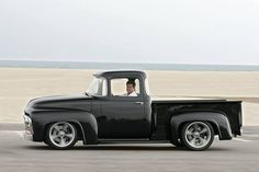 CHIP FOOSE 56 F100 | Chip Foose in his '56 Ford F•100