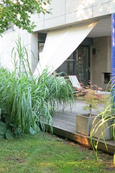segelduk & gräs