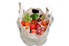 Happy cotton veggie bag – Large size – HappyInEcop