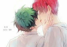 My hero Academia YAOI - Deku x todoroki 1 - Page 2 - Wattpad My Hero Academia Shouto, My Hero Academia Episodes, Hero Academia Characters, Lgbt Anime, Deku Anime, Bakugou Manga, Image Manga, Ship Art, Cute Gay