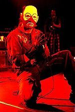 Mike Patton performing with Mr. Bungle. (1991)