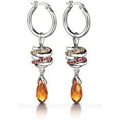 Chamilia Sterling Silver Urban Hoop Bead Earrings - Small